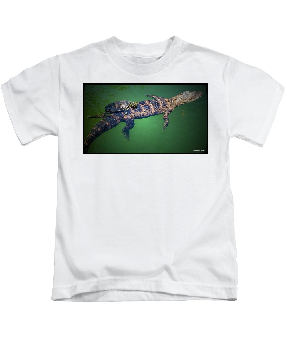 Shannon Kids T-Shirt featuring the photograph Best Of Buds by Shannon Sears