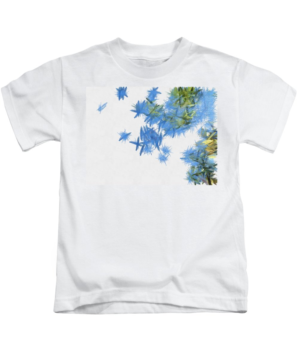 Abstract Kids T-Shirt featuring the photograph Birds In Abundance by Ashish Agarwal