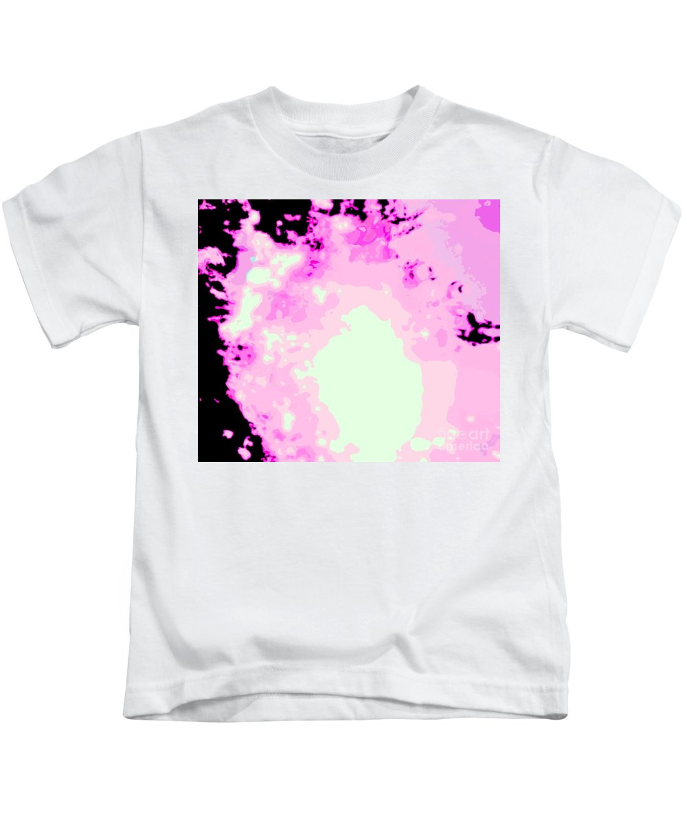 Water Art Kids T-Shirt featuring the photograph Spark Of Heart Light by Sybil Staples