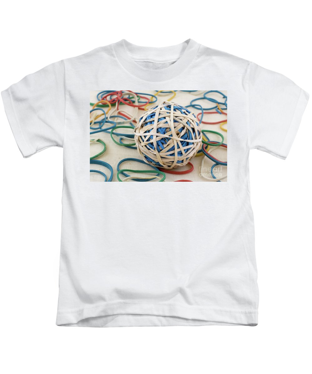Abstract Kids T-Shirt featuring the photograph Bored Sensless by Alan Look