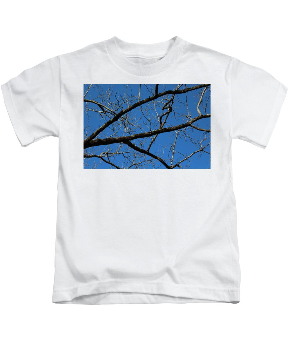 Branches Kids T-Shirt featuring the photograph Branches by Hunter Kotlinski