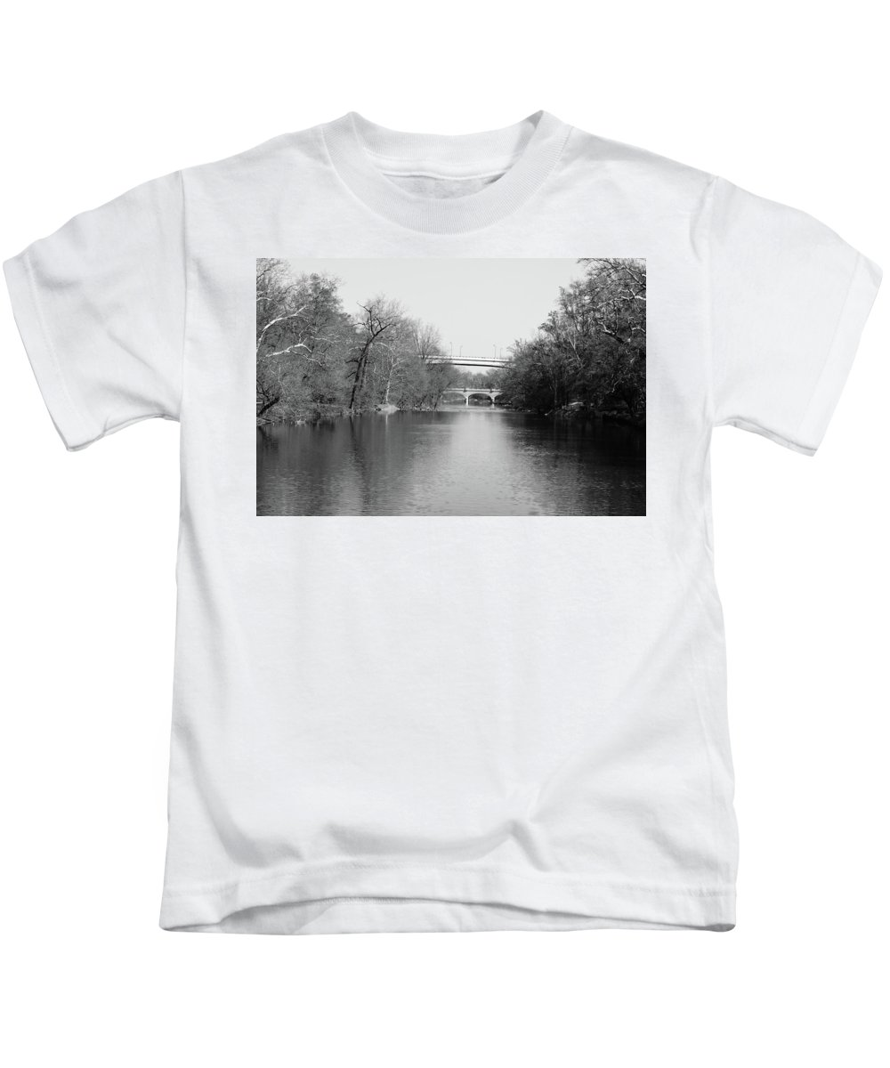 Creek Kids T-Shirt featuring the photograph Brandywine Creek by Susan Derrickson Hanna