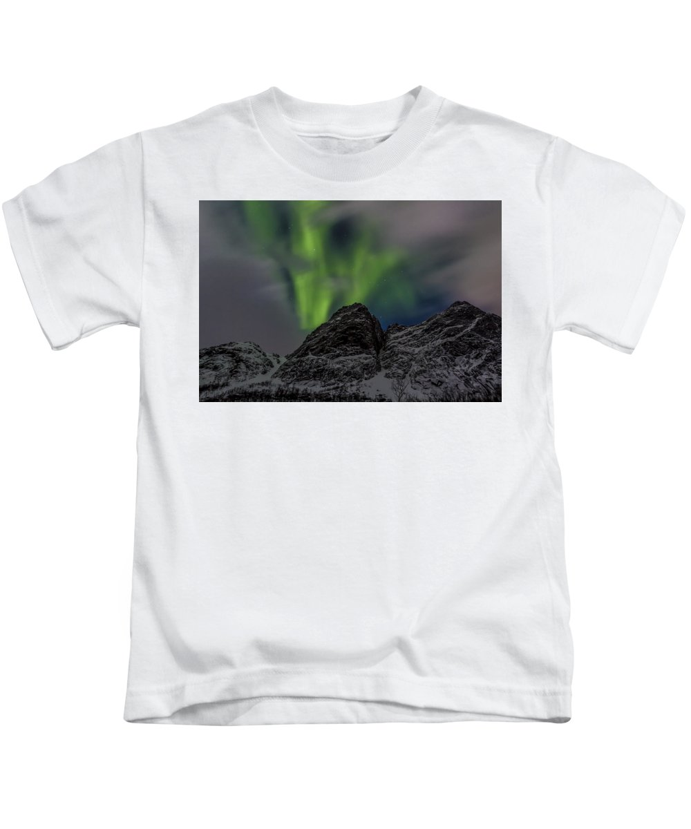 Norway Kids T-Shirt featuring the photograph Breaking Through 8199 by Karen Celella