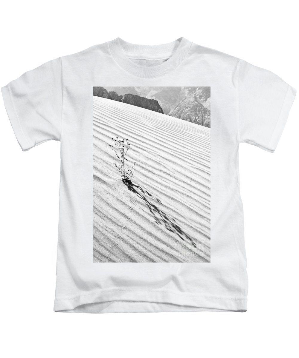 Cactus Kids T-Shirt featuring the photograph Cactus In Desert by Hitendra SINKAR