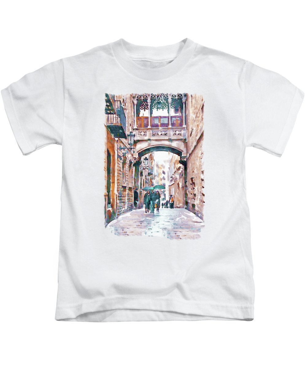 Gothic Quarter Kids T-Shirts