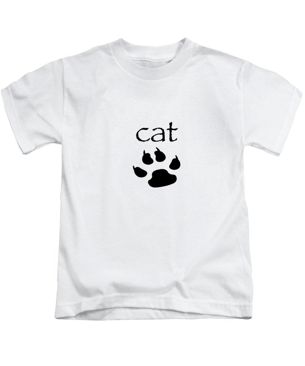 women's Fashion girl's Fashion teen Fashion Fashion Kids T-Shirt featuring the photograph cat by Bill Owen