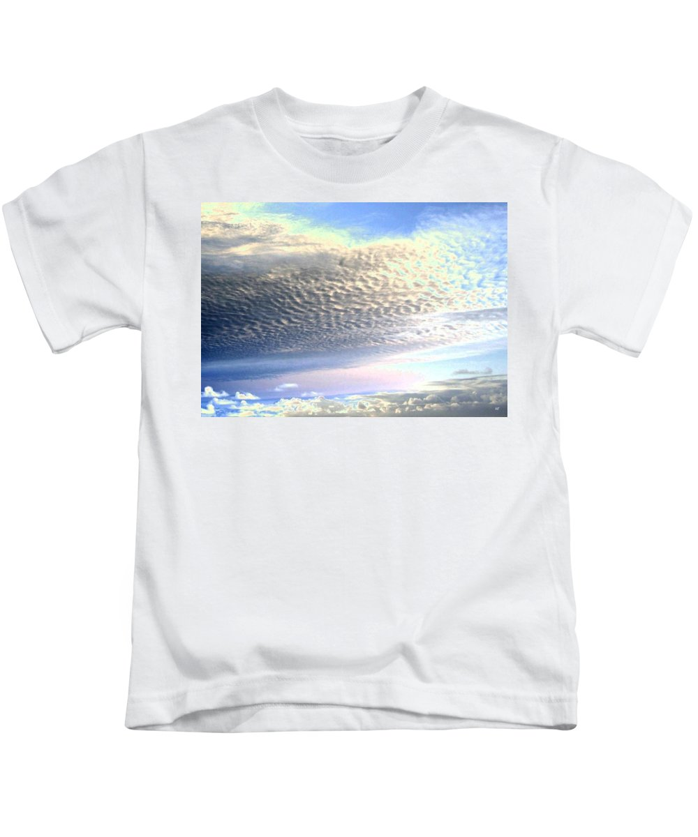 Sky Kids T-Shirt featuring the photograph Cloud Nine 5 by Will Borden