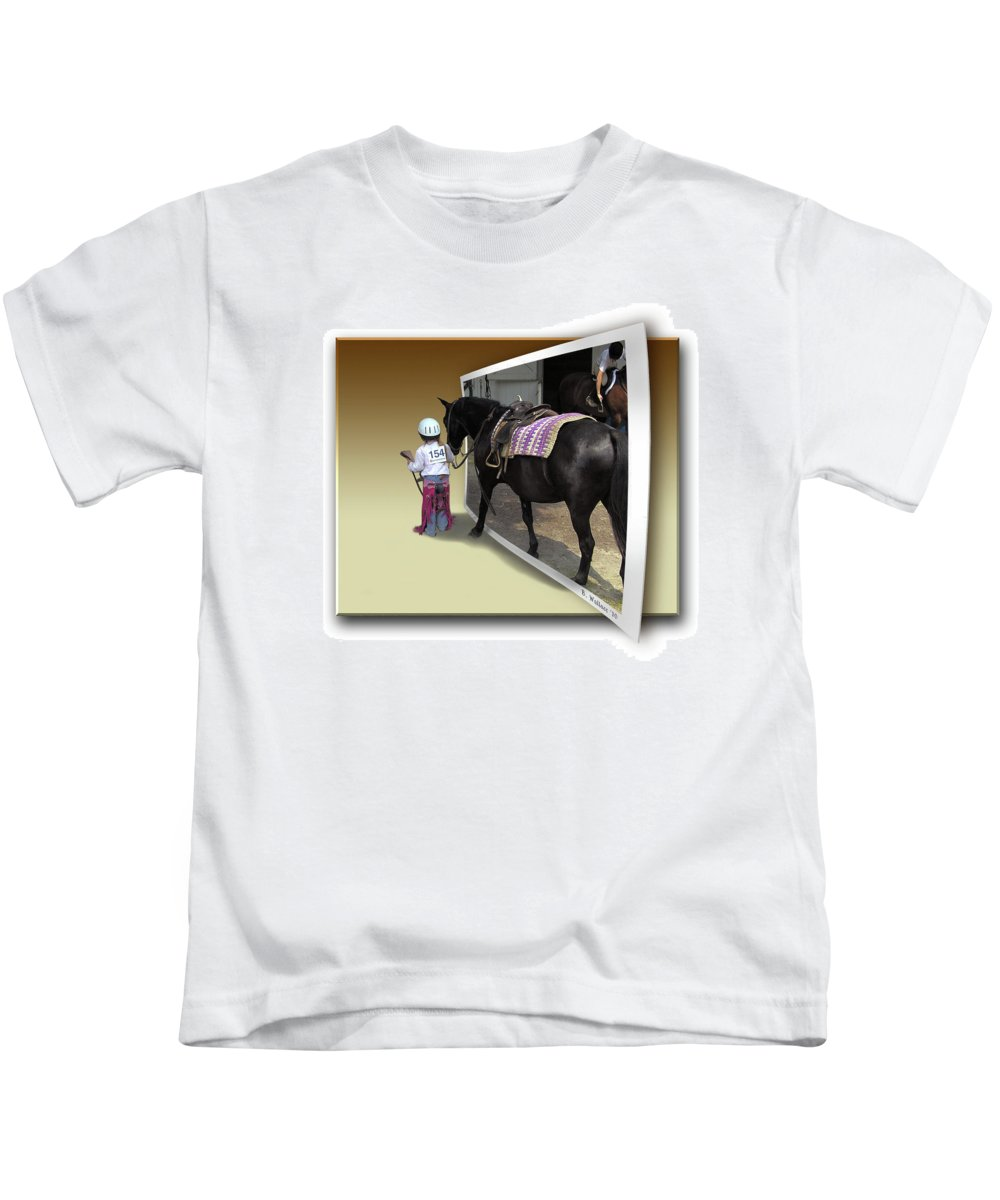 2d Kids T-Shirt featuring the photograph Come With Me by Brian Wallace
