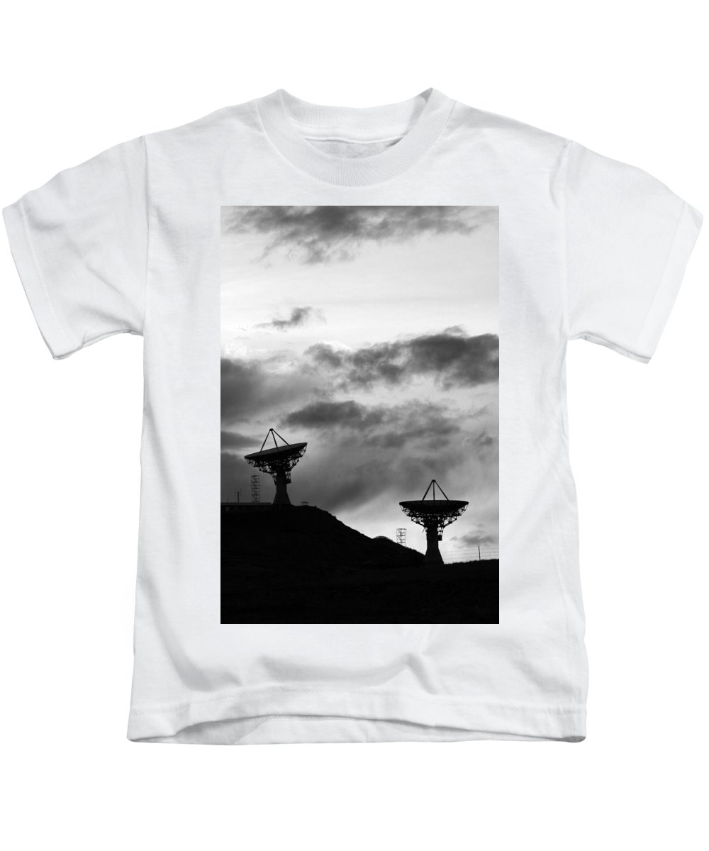 Antenna Kids T-Shirt featuring the photograph Communication by James BO Insogna