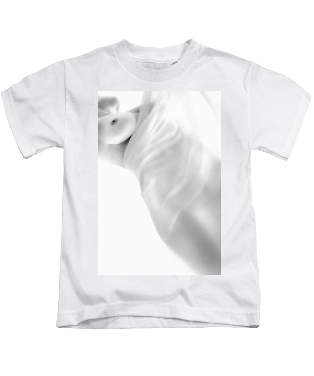 Body Kids T-Shirt featuring the photograph Covering The Body by Evgeniy Lankin