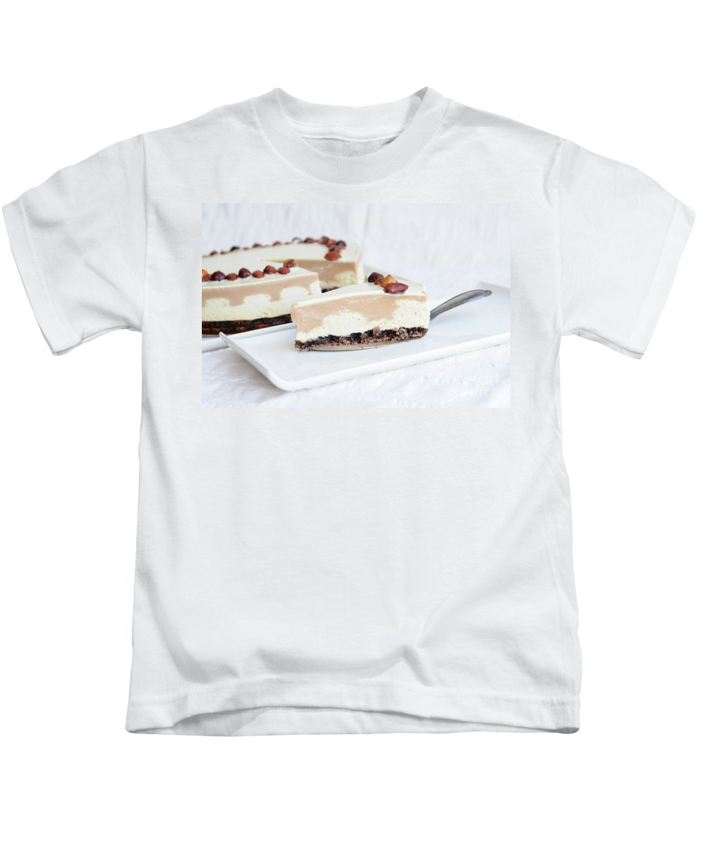 Cream Kids T-Shirt featuring the photograph Cream Cake by PhotoStock-Israel