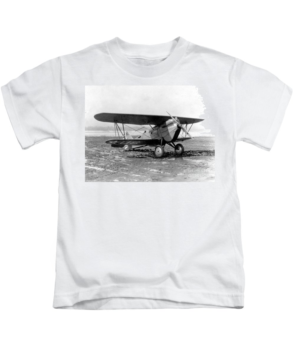 Science Kids T-Shirt featuring the photograph Curtiss P-1 Hawk,1925 by Science Source