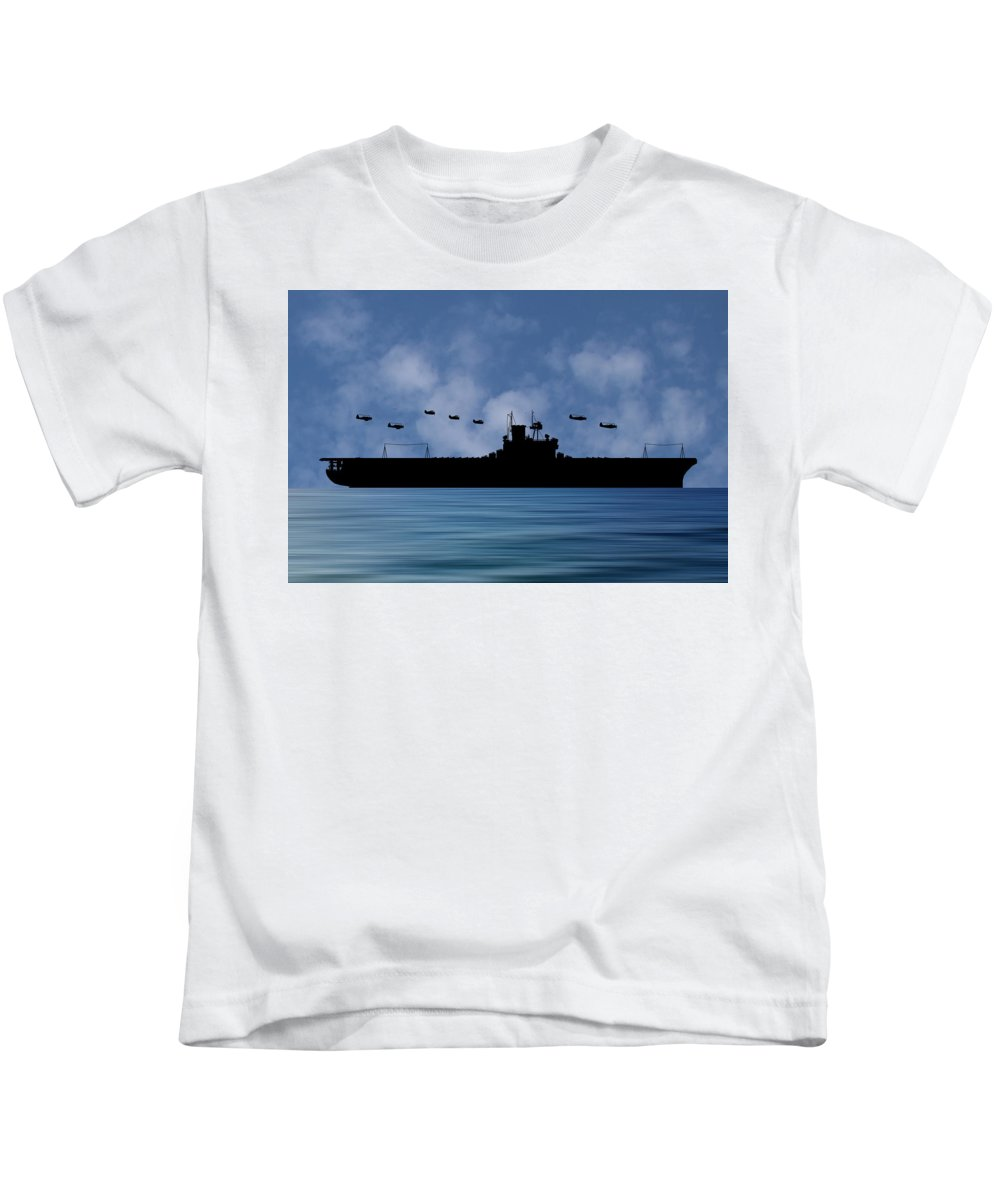 Cus Andrew Jackson Kids T-Shirt featuring the photograph Cus Andrew Jackson 1936 V1 by Smart Aviation