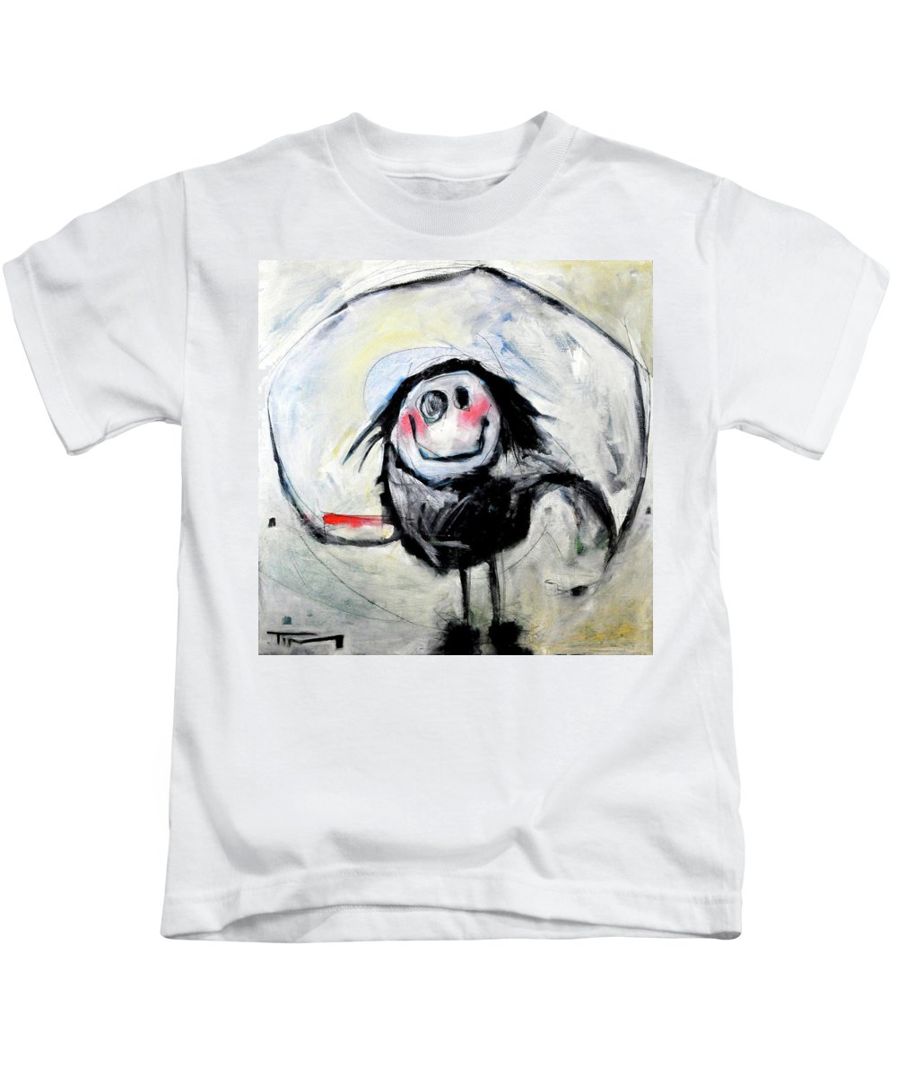 Kid Kids T-Shirt featuring the painting Degas Dancer by Tim Nyberg