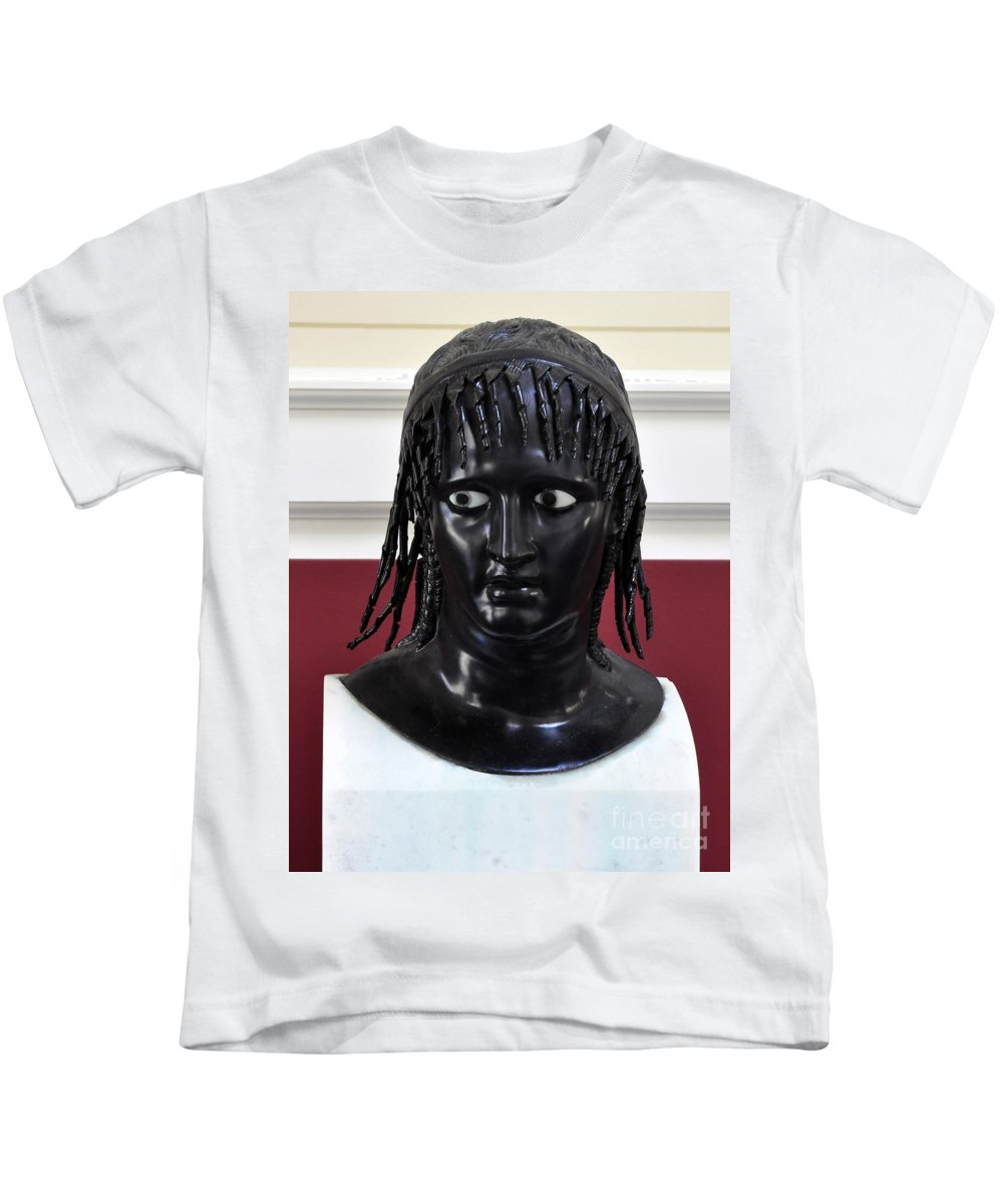 Clay Kids T-Shirt featuring the photograph Did You See That by Clayton Bruster