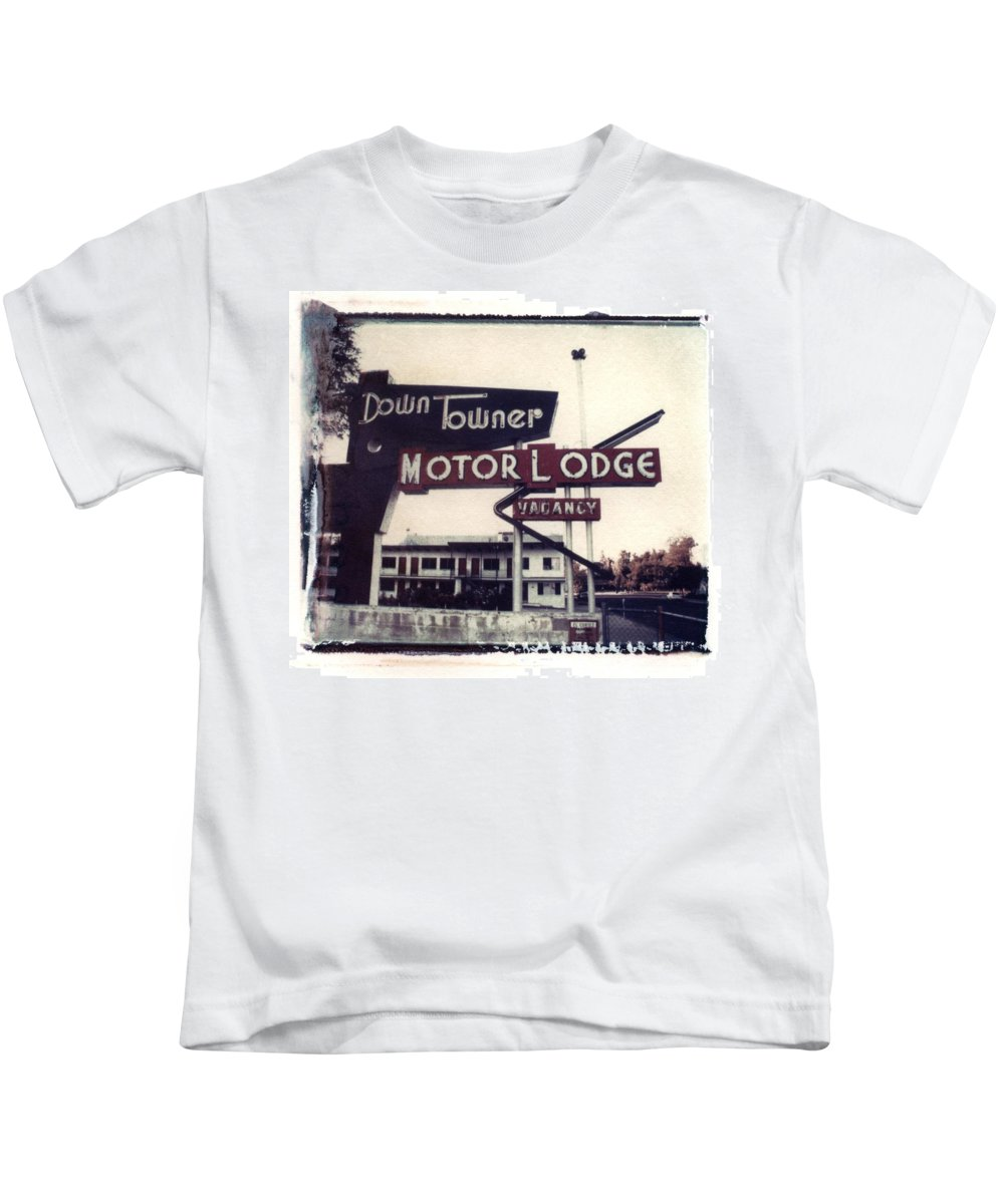 Landscape Kids T-Shirt featuring the photograph Down Towner by Jane Linders