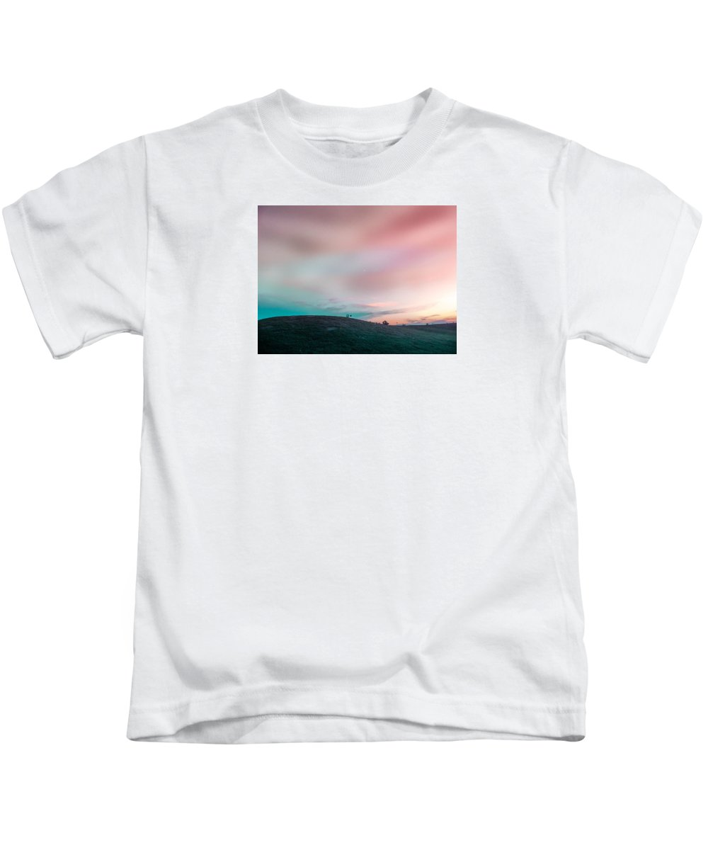 Clouds Kids T-Shirt featuring the photograph Dramatic Sky by Chris Patel