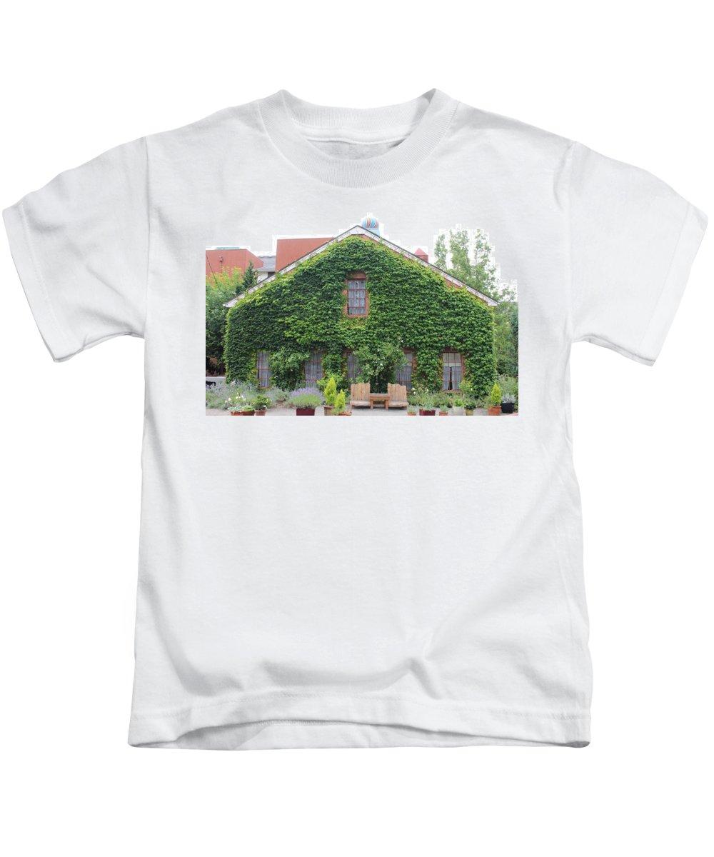 Kids T-Shirt featuring the photograph Edgefield by Karis Tsolomitis