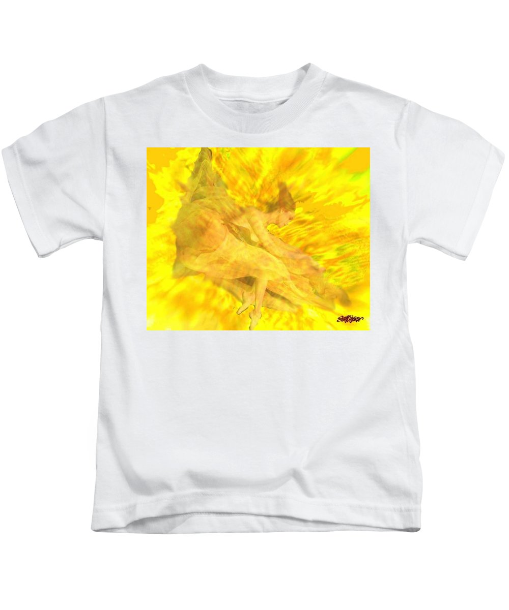 Joy Kids T-Shirt featuring the digital art Endless Joy by Seth Weaver