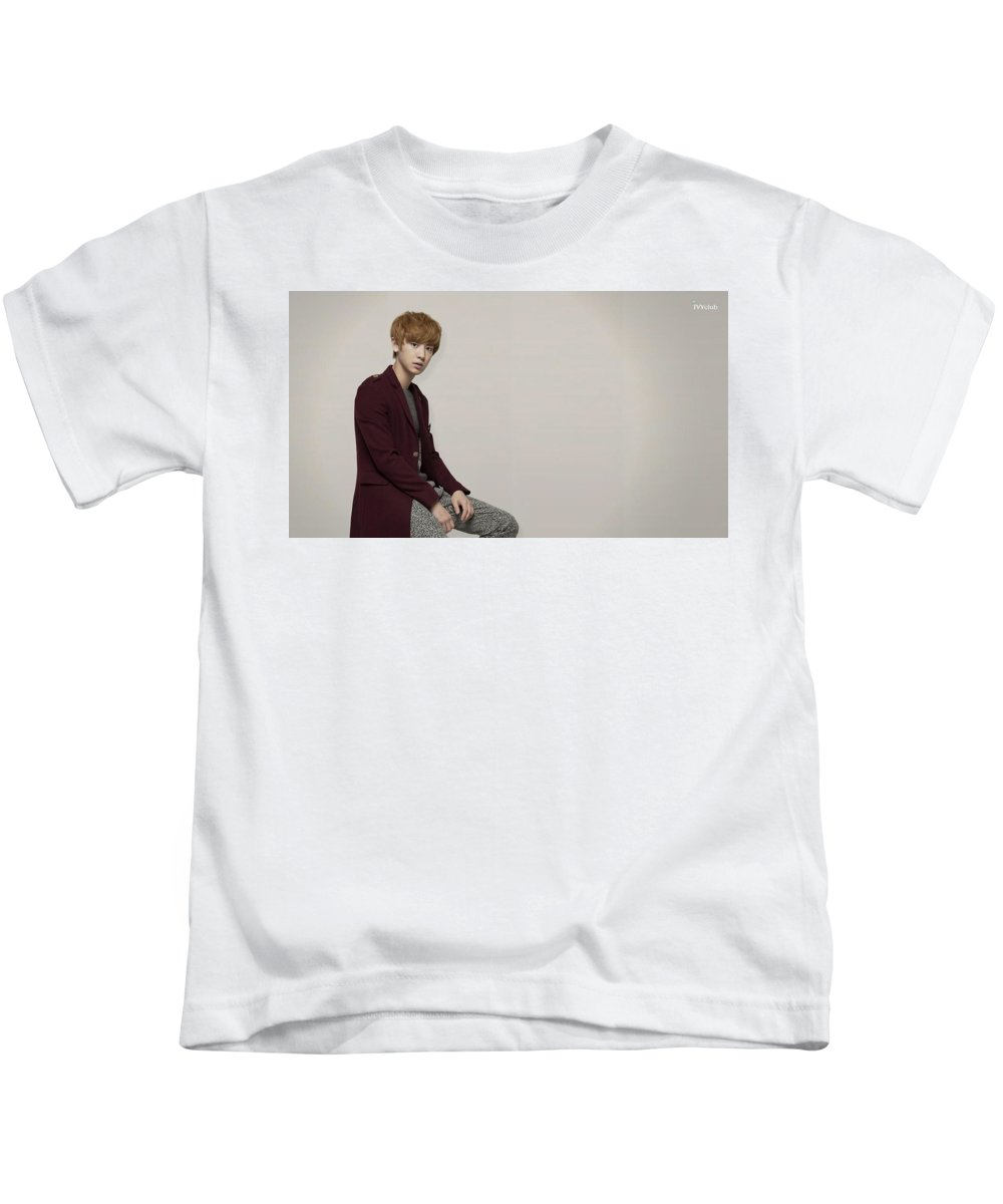 Exo Kids T-Shirt featuring the digital art Exo by Dorothy Binder