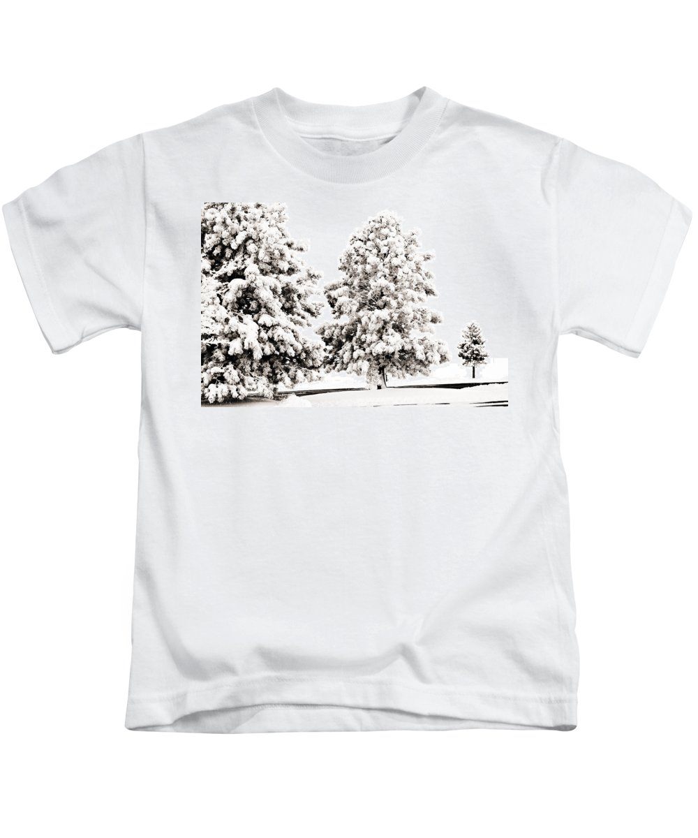 Trees Kids T-Shirt featuring the photograph Family Of Trees by Marilyn Hunt
