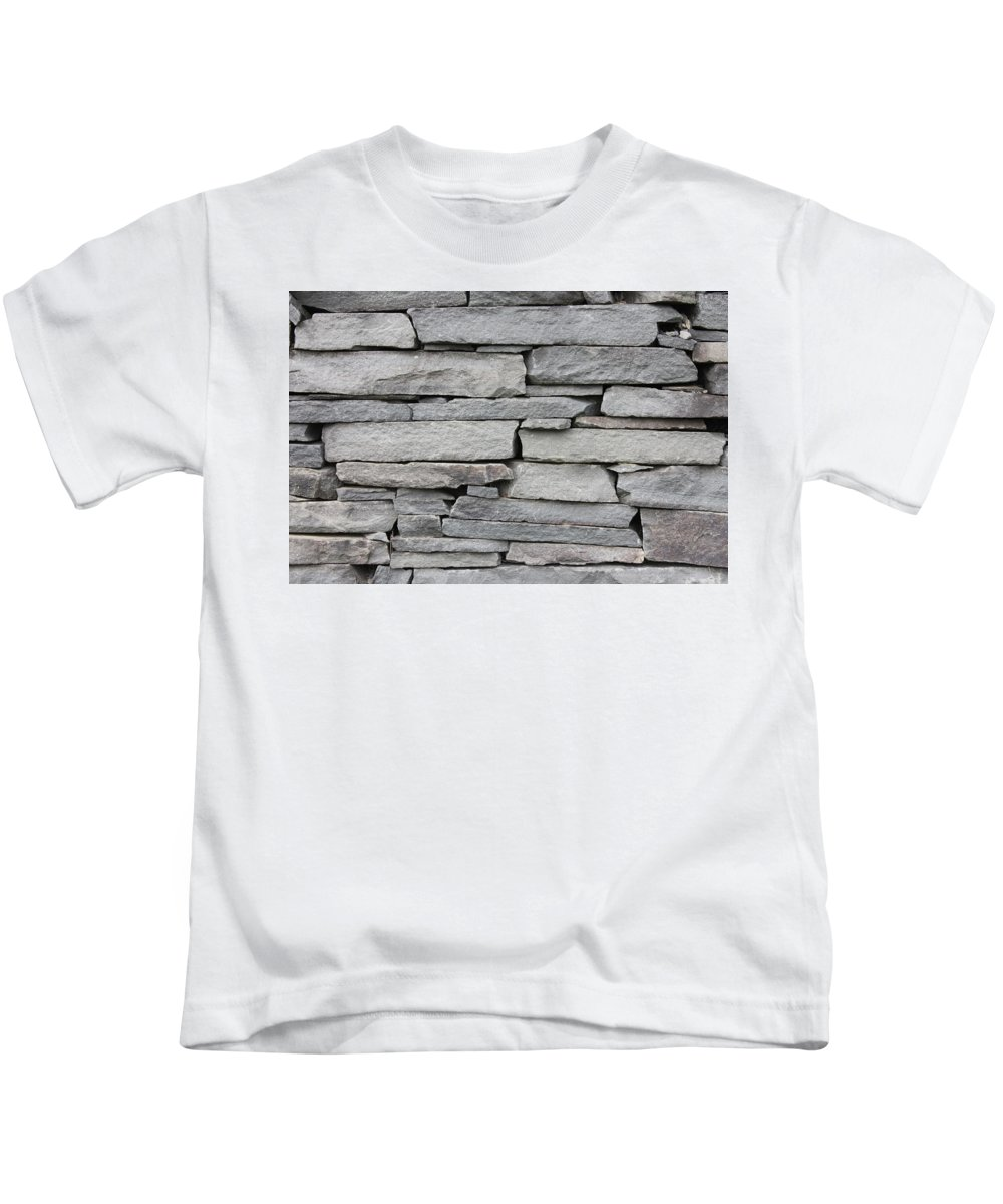 Kids T-Shirt featuring the photograph Flat Stack by Stephen Orenstein