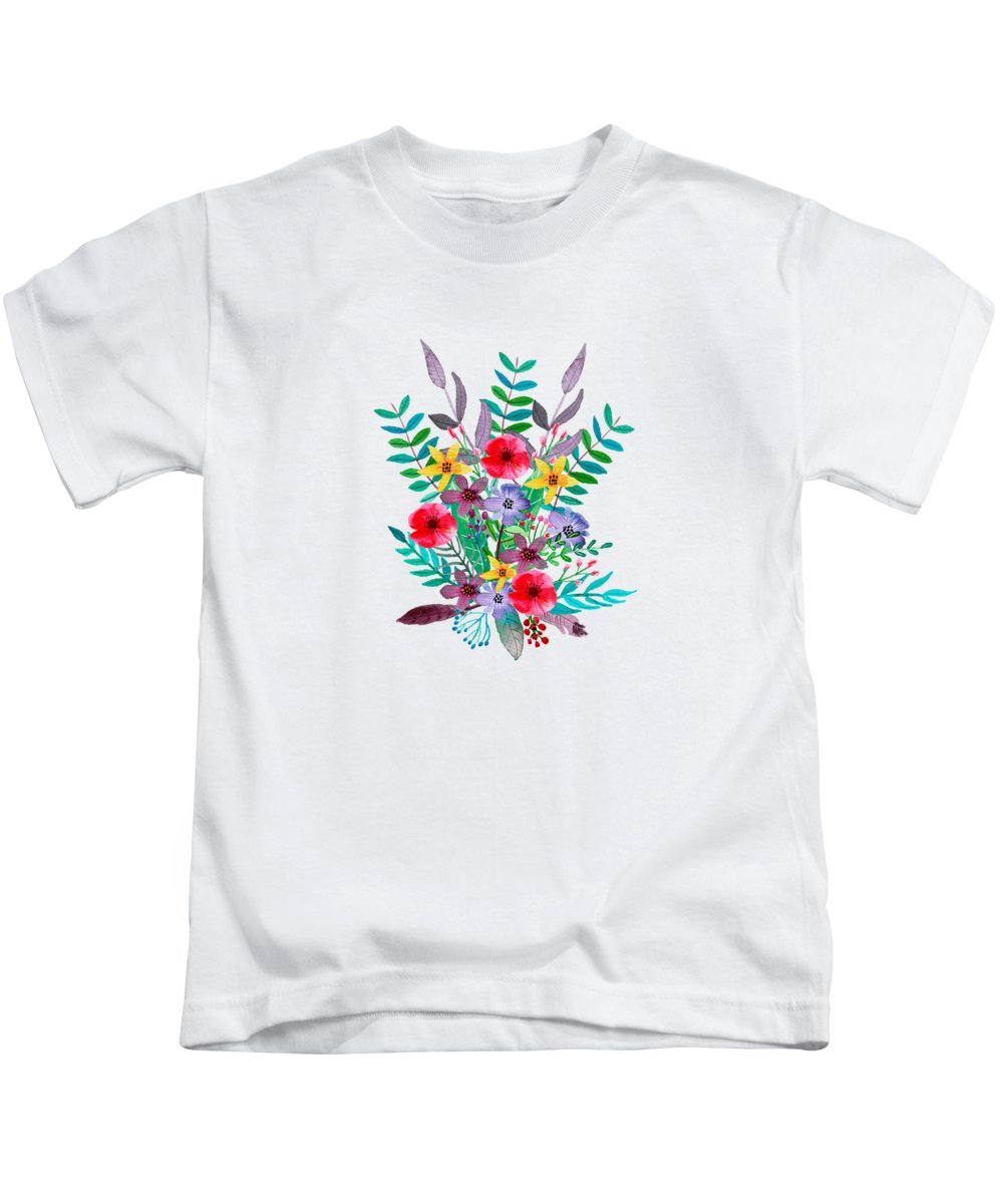 Flowers Kids T-Shirts