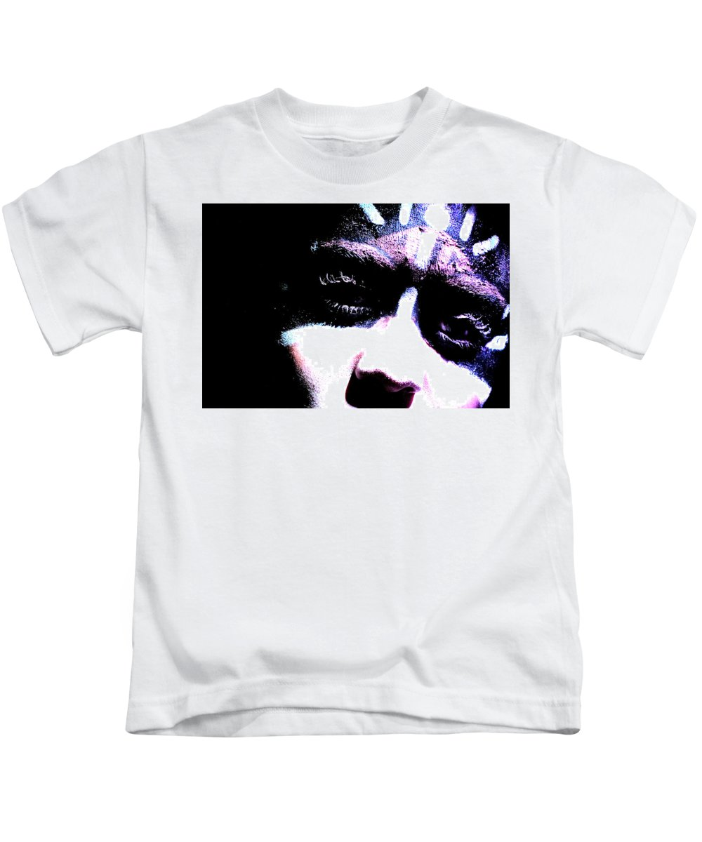 Kids T-Shirt featuring the photograph Focus by Mosby Perttu