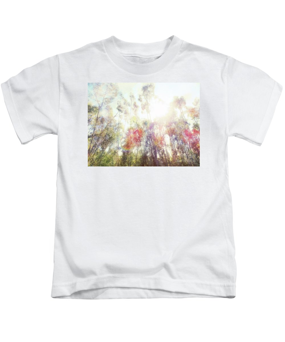 Forest Kids T-Shirt featuring the photograph Forest Light by Davy Cheng