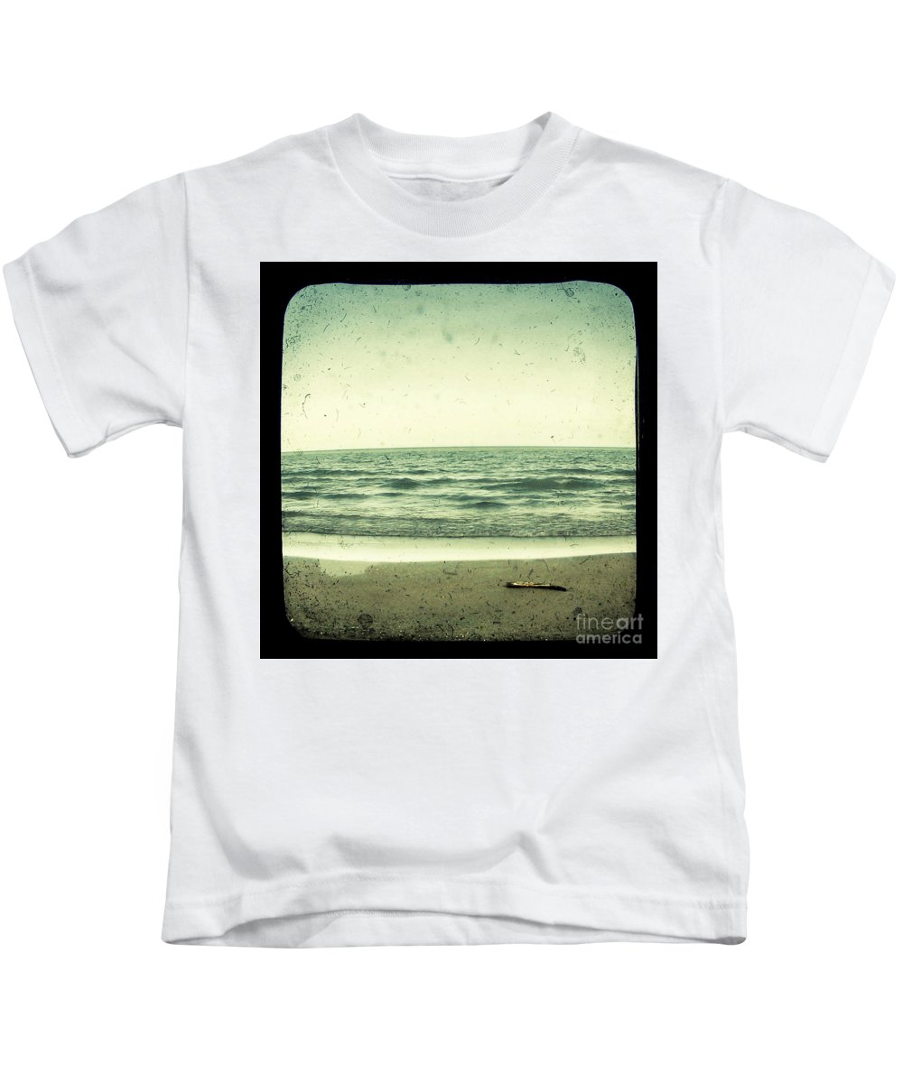 Ttv Kids T-Shirt featuring the photograph Forget Yesterday by Dana DiPasquale