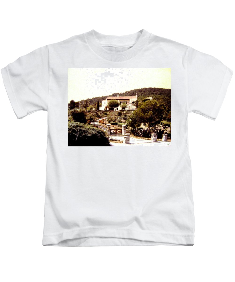 1955 Kids T-Shirt featuring the photograph French Riviera 1955 by Will Borden