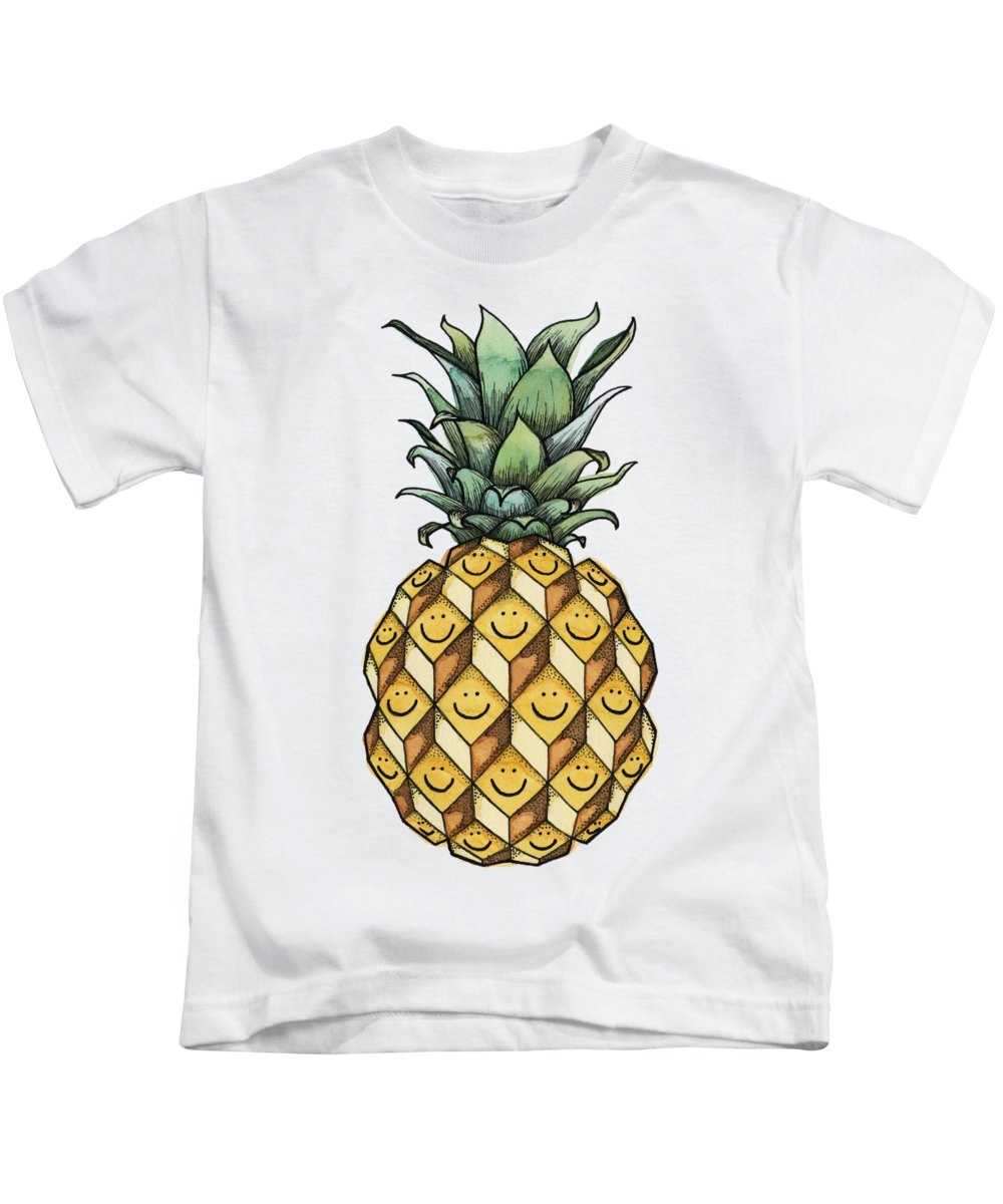 Pineapple Kids T-Shirts