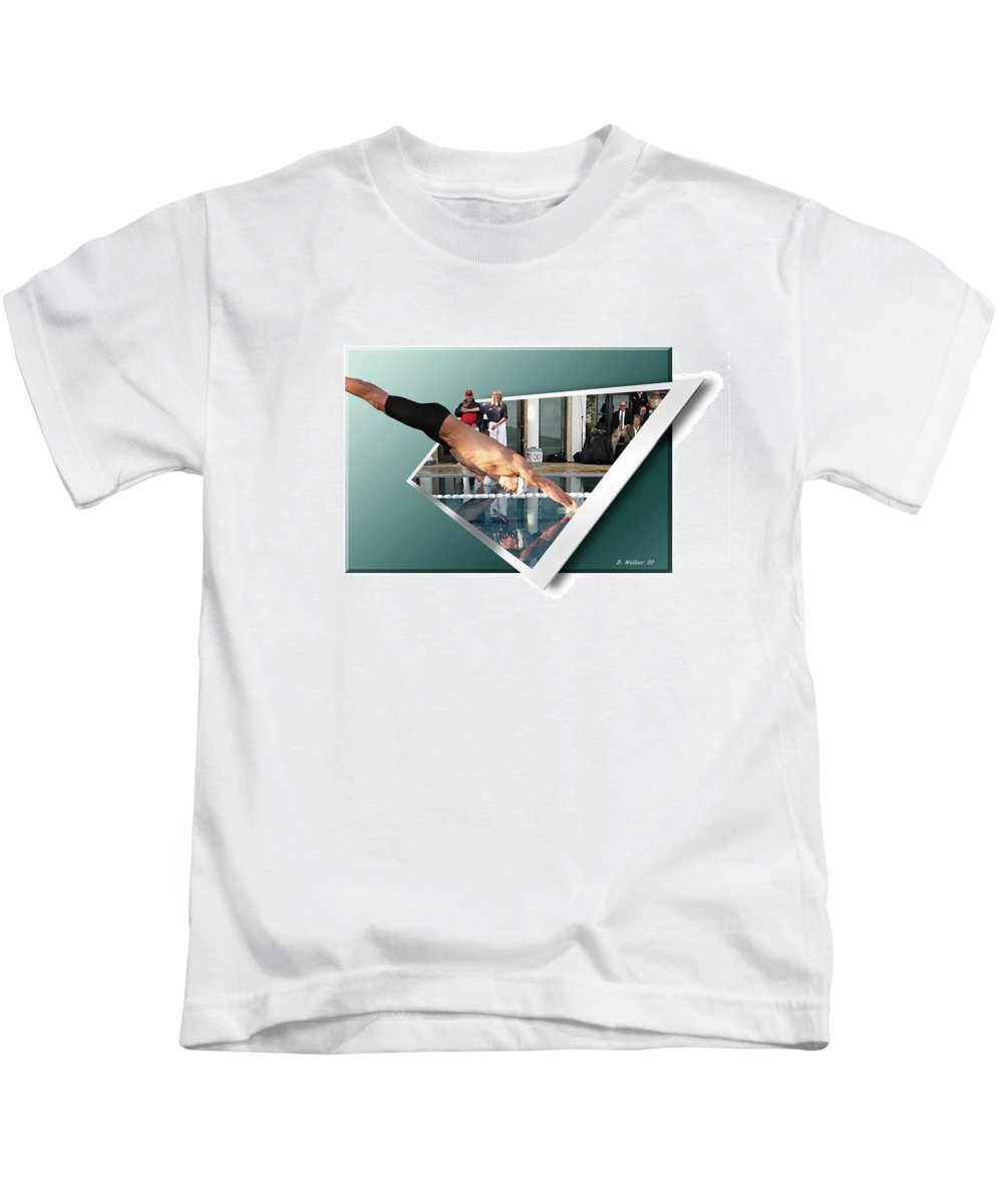 2d Kids T-Shirt featuring the photograph Get Ready Get Set by Brian Wallace