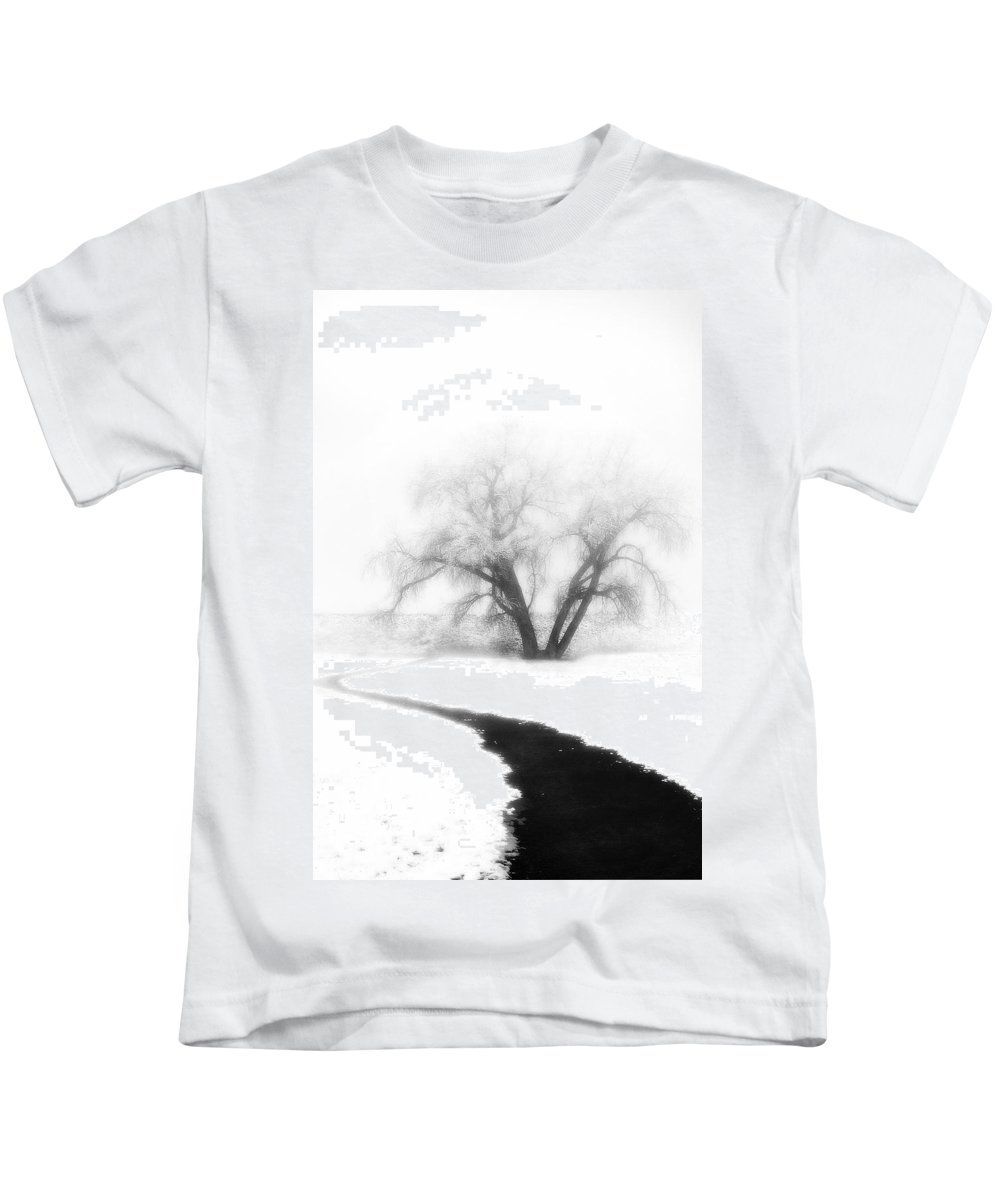 Tree Kids T-Shirt featuring the photograph Getting There by Marilyn Hunt