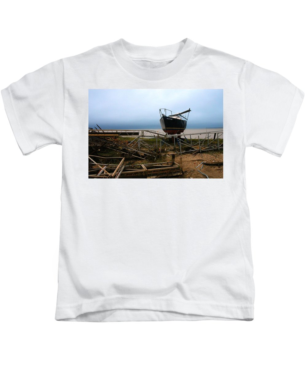 Clay Kids T-Shirt featuring the photograph Ghost by Clayton Bruster