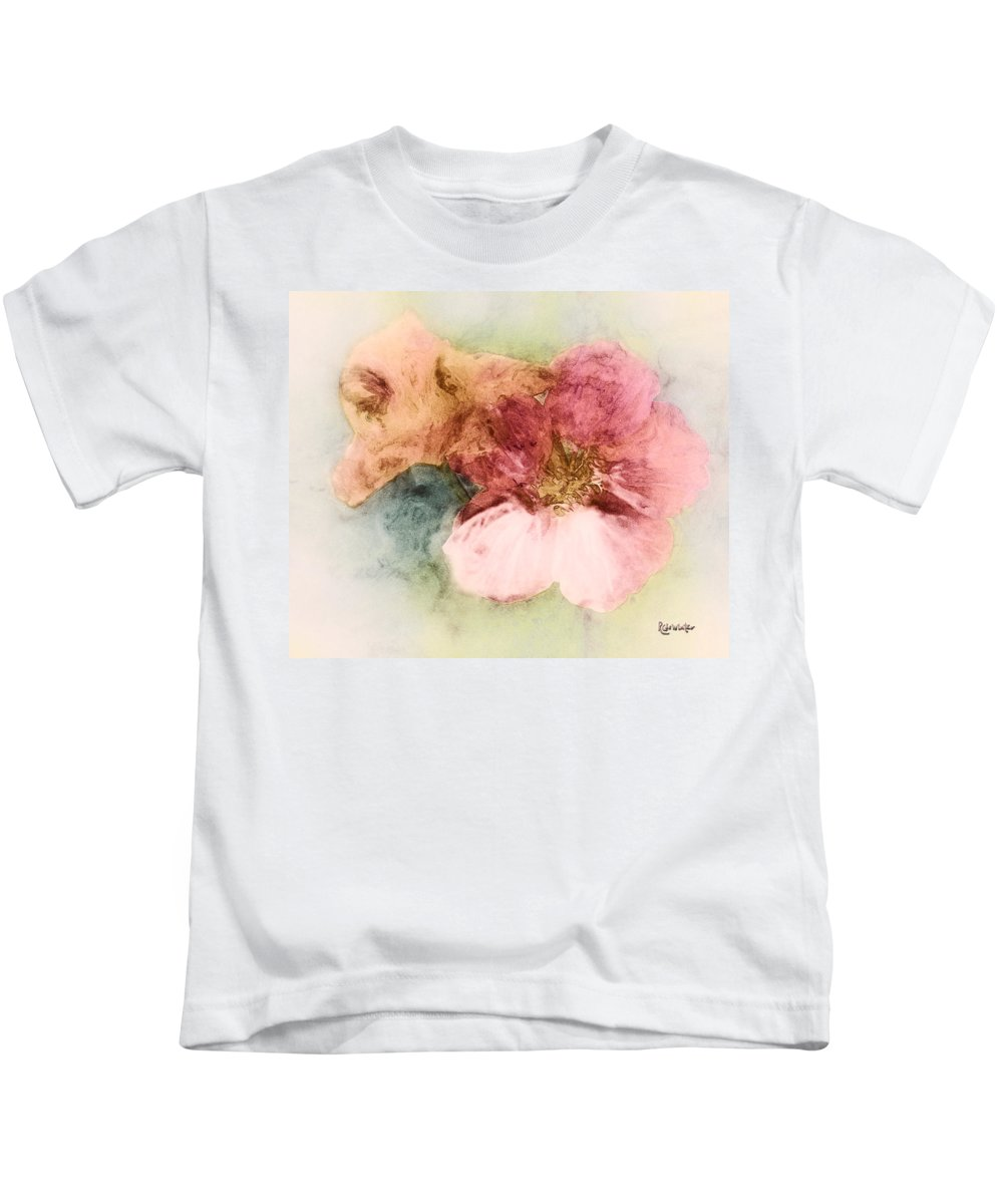 Flowers Kids T-Shirt featuring the digital art Gone Native by RC DeWinter