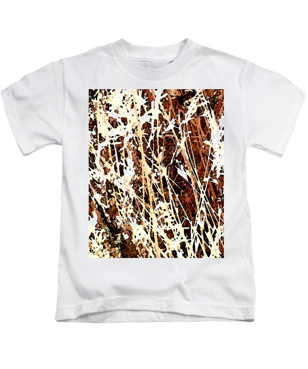 Grass Kids T-Shirt featuring the photograph Grass by Wayne Potrafka