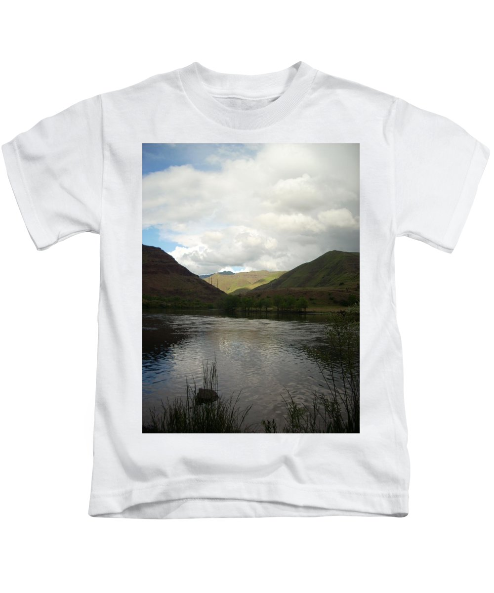 Water Kids T-Shirt featuring the photograph Happy Place by Sara Stevenson