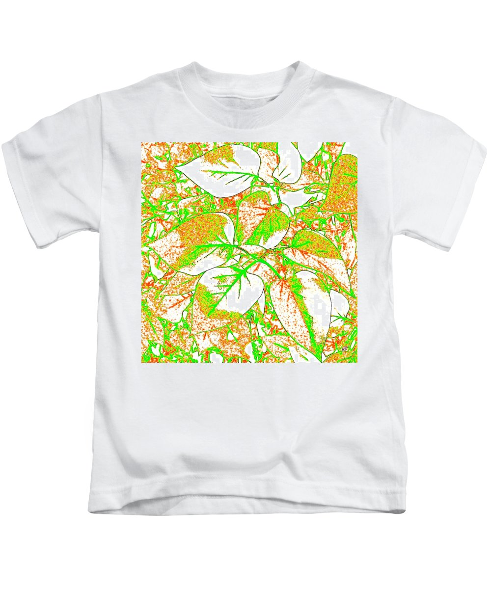 Abstract Kids T-Shirt featuring the digital art Harmony 11 by Will Borden