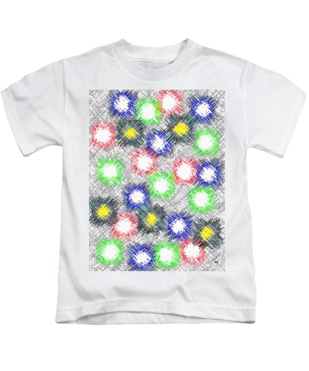 Abstract Kids T-Shirt featuring the digital art Harmony 32 by Will Borden