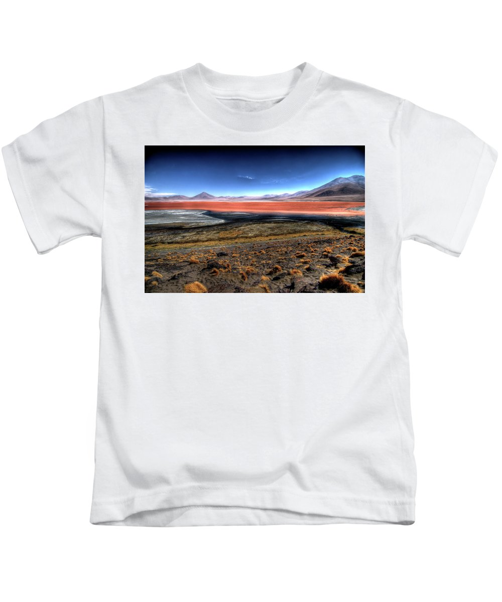 Hdr Kids T-Shirt featuring the digital art HDR by Dorothy Binder
