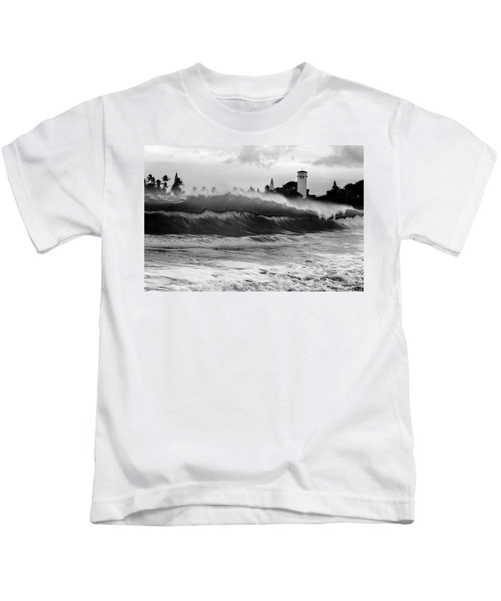 Wave Kids T-Shirt featuring the photograph Holy Water by Sean Davey