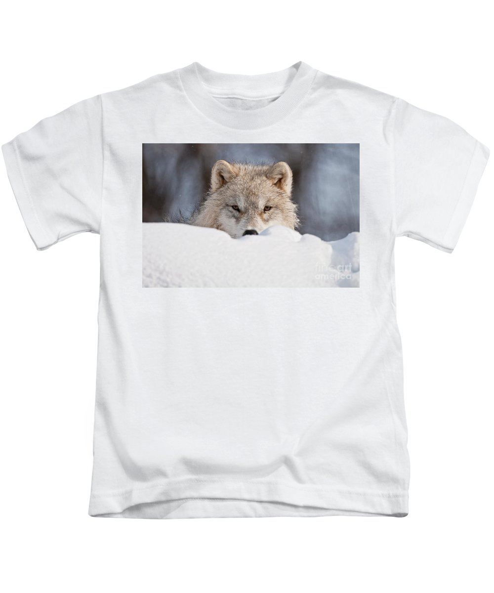 Michael Cummings Kids T-Shirt featuring the photograph I See You by Michael Cummings