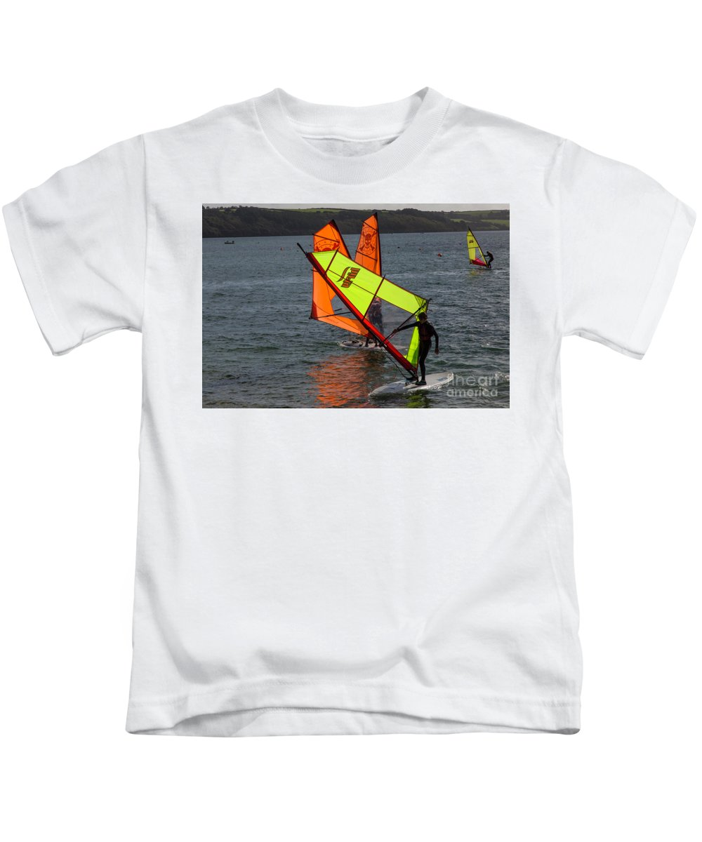 Photographs Kids T-Shirt featuring the photograph I Will Get The Hang Of This by Brian Roscorla