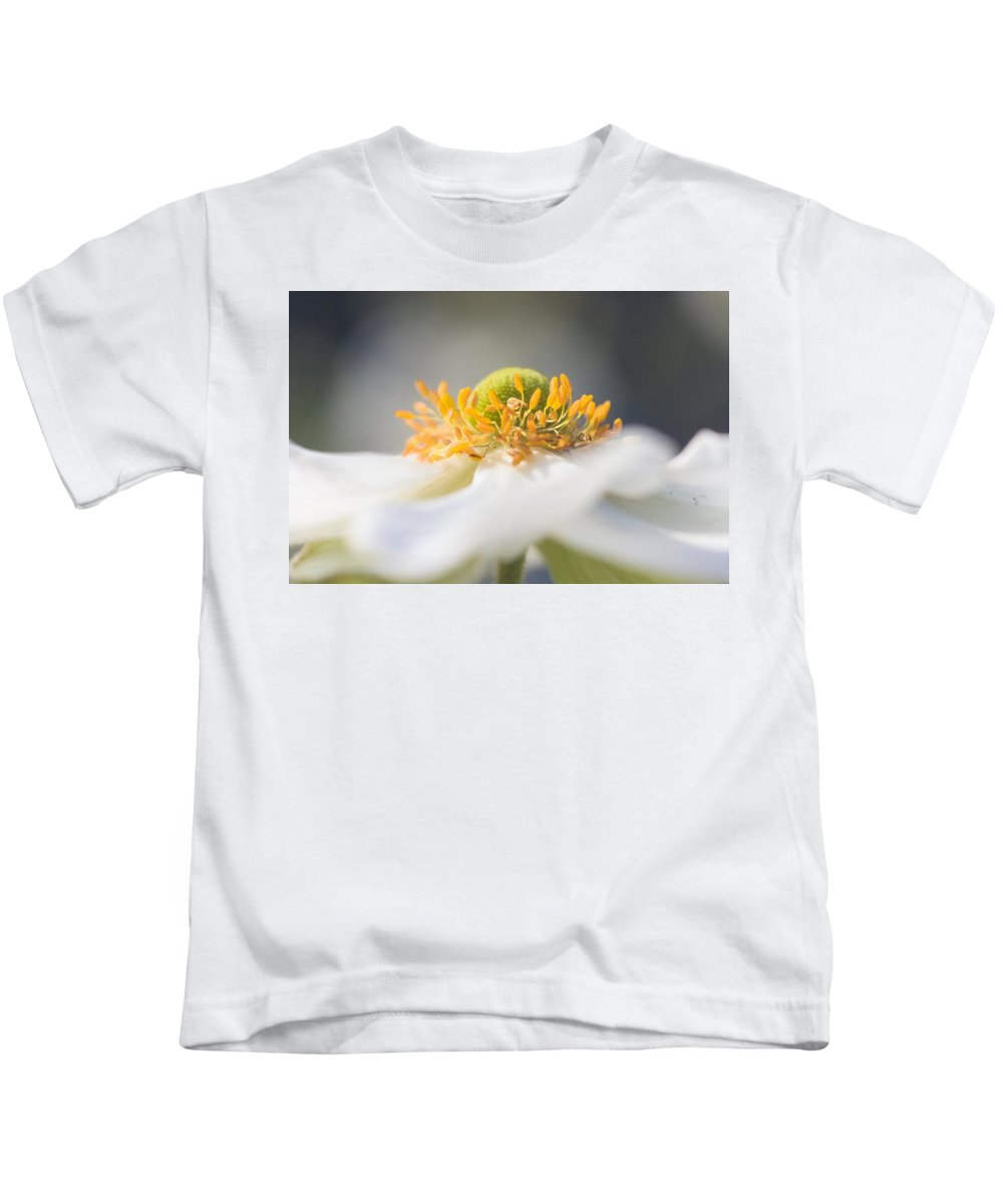 Nature Kids T-Shirt featuring the photograph In The Garden by Laura Diara