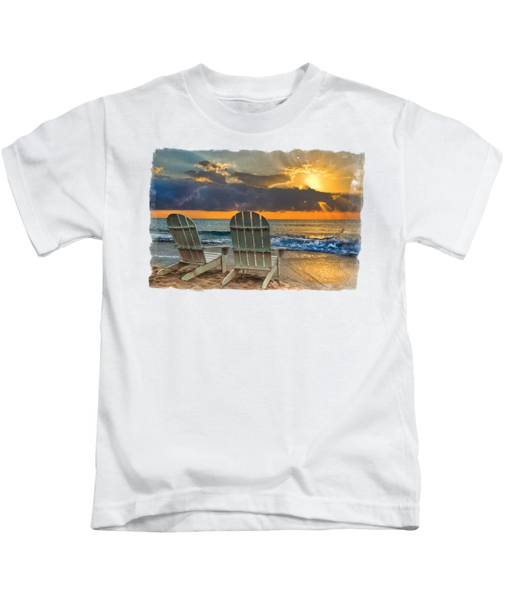 Beautiful Sunrise Photographs Kids T-Shirts