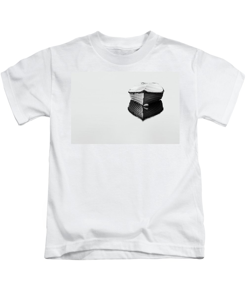 Activity Kids T-Shirt featuring the digital art Isolated by Gary Ellis