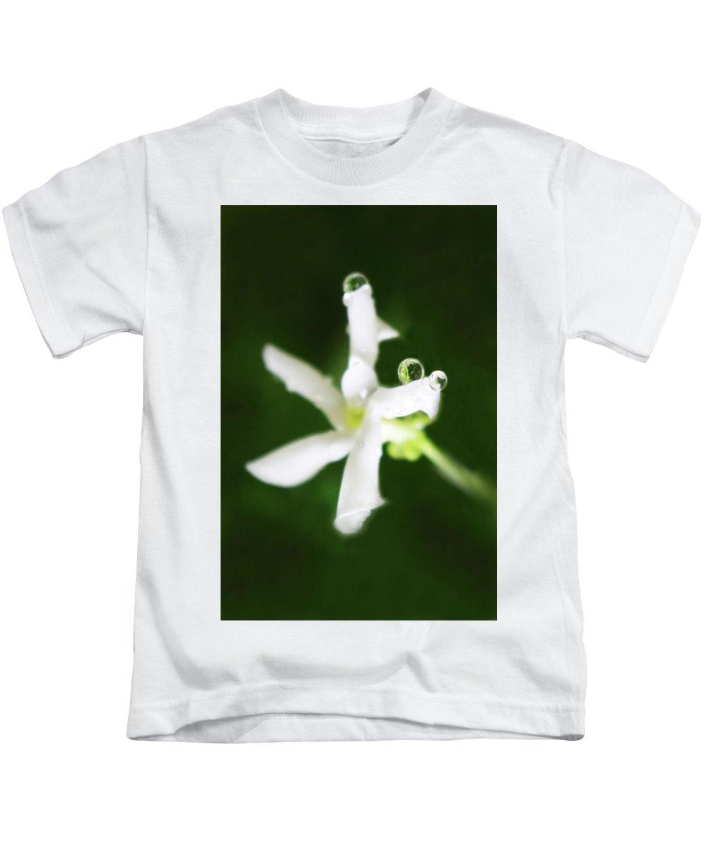 Jasmine Kids T-Shirt featuring the photograph Jasmine Balance by Erin Donalson
