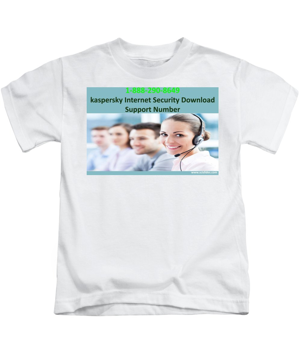 Kaspersky Internet Security Download Support Number Kids T-Shirt featuring the photograph Kaspersky Internet Security Download Support Number by Jenny Warner