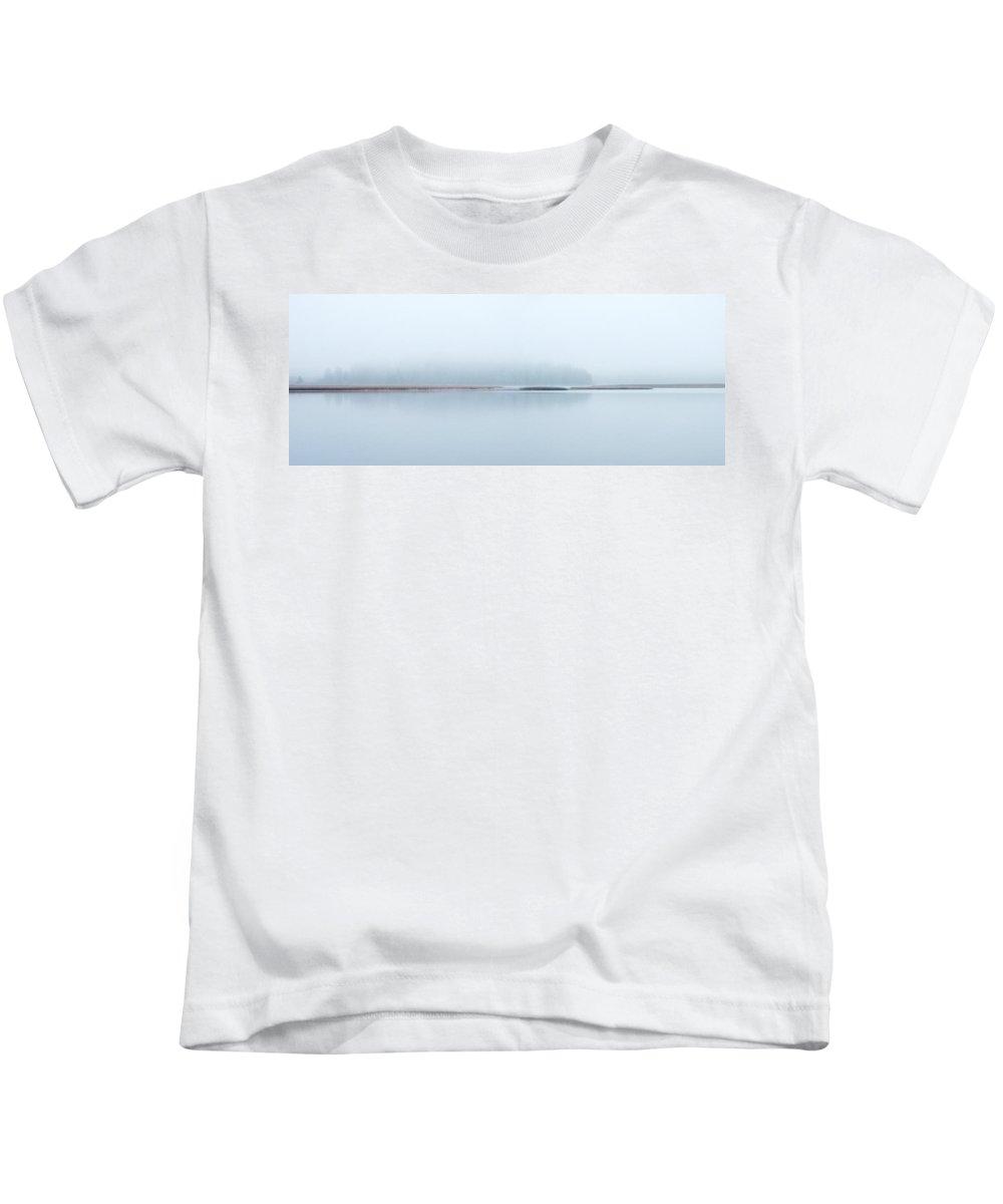 J�rvi Lake Kids T-Shirt featuring the photograph Kulovesi Blues 1 by Jouko Lehto